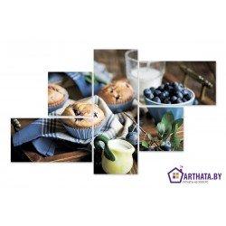 Фото на холсте Печать картин Репродукции и портреты - Завтрак на даче