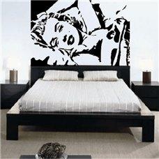Картина на холсте по фото Модульные картины Печать портретов на холсте Трафарет Marilyn Monroe