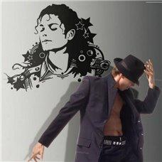 Картина на холсте по фото Модульные картины Печать портретов на холсте Трафарет Майкл Джексон звезда