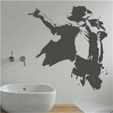 Картина на холсте по фото Модульные картины Печать портретов на холсте Трафарет Майкл Джексон