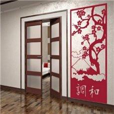 Картина на холсте по фото Модульные картины Печать портретов на холсте Трафарет Японский бордюр