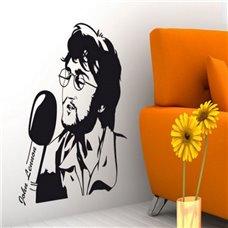 Картина на холсте по фото Модульные картины Печать портретов на холсте Трафарет John Lennon