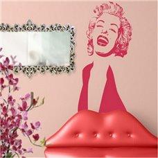 Картина на холсте по фото Модульные картины Печать портретов на холсте Трафарет Мэрилин Монро II
