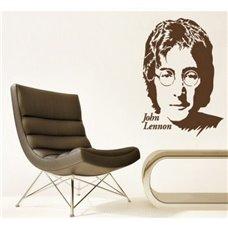 Картина на холсте по фото Модульные картины Печать портретов на холсте Трафарет Портрет Джона Леннона II