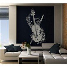 Картина на холсте по фото Модульные картины Печать портретов на холсте Трафарет Виолончель