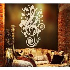 Картина на холсте по фото Модульные картины Печать портретов на холсте Трафарет Скрипичный ключ