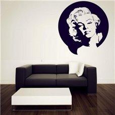 Картина на холсте по фото Модульные картины Печать портретов на холсте Трафарет Портрет Мэрилин Монро