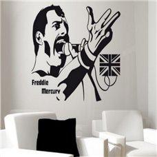 Картина на холсте по фото Модульные картины Печать портретов на холсте Трафарет Фредди Меркьюри