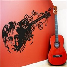Картина на холсте по фото Модульные картины Печать портретов на холсте Трафарет Джон Леннон