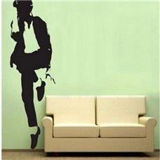 Картина на холсте по фото Модульные картины Печать портретов на холсте Трафарет Легенда Майкл Джексон