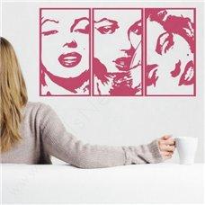 Картина на холсте по фото Модульные картины Печать портретов на холсте Трафарет Мэрилин Монро