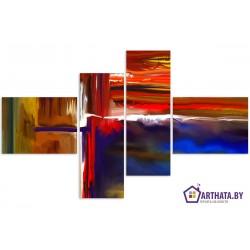 Фото на холсте Печать картин Репродукции и портреты - Цветные волны