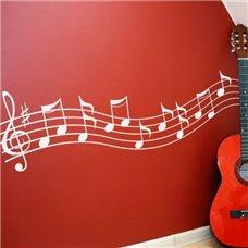 Картина на холсте по фото Модульные картины Печать портретов на холсте Трафарет Музыкальные ноты