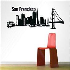 Картина на холсте по фото Модульные картины Печать портретов на холсте Трафарет Сан Франциско
