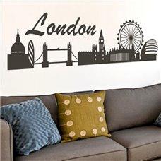 Картина на холсте по фото Модульные картины Печать портретов на холсте Трафарет Панорамный вид города Лондон