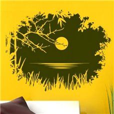Картина на холсте по фото Модульные картины Печать портретов на холсте Трафарет Лунная ночь