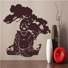 Картина на холсте по фото Модульные картины Печать портретов на холсте Трафарет Будда под деревом