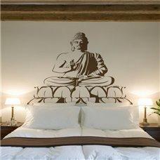 Картина на холсте по фото Модульные картины Печать портретов на холсте Трафарет Будда