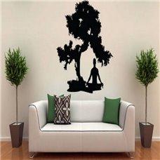 Картина на холсте по фото Модульные картины Печать портретов на холсте Трафарет Медитация на природе