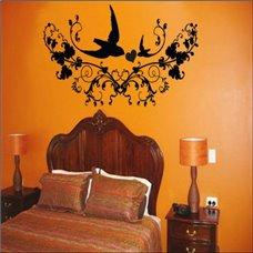 Картина на холсте по фото Модульные картины Печать портретов на холсте Трафарет Мелодия птиц