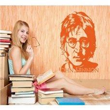 Картина на холсте по фото Модульные картины Печать портретов на холсте Трафарет Портрет Джона Леннона