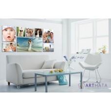 Картина на холсте по фото Модульные картины Печать портретов на холсте Фотостена №26