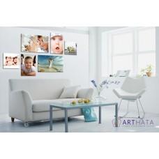 Картина на холсте по фото Модульные картины Печать портретов на холсте Фотостена №1