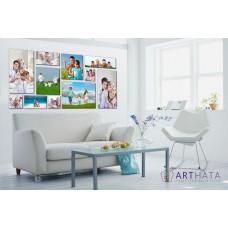Картина на холсте по фото Модульные картины Печать портретов на холсте Фотостена №3