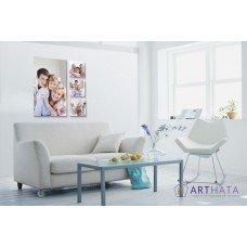 Картина на холсте по фото Модульные картины Печать портретов на холсте Фотостена №7