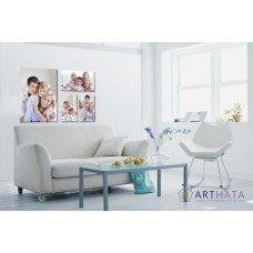 Картина на холсте по фото Модульные картины Печать портретов на холсте Фотостена №8