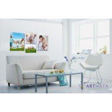 Картина на холсте по фото Модульные картины Печать портретов на холсте Фотостена №9