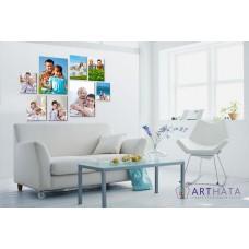 Картина на холсте по фото Модульные картины Печать портретов на холсте Фотостена №10