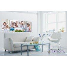 Картина на холсте по фото Модульные картины Печать портретов на холсте Фотостена №13