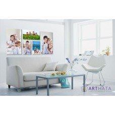 Картина на холсте по фото Модульные картины Печать портретов на холсте Фотостена №14