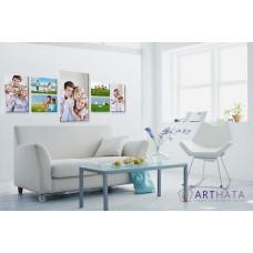 Картина на холсте по фото Модульные картины Печать портретов на холсте Фотостена №15