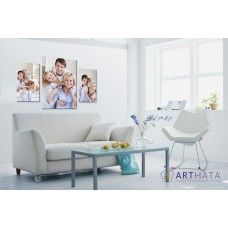 Картина на холсте по фото Модульные картины Печать портретов на холсте Фотостена №16