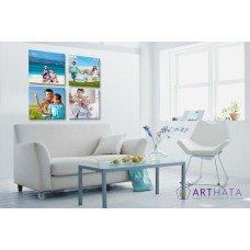 Картина на холсте по фото Модульные картины Печать портретов на холсте Фотостена №17