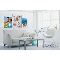 Картина на холсте по фото Модульные картины Печать портретов на холсте Фотостена №18