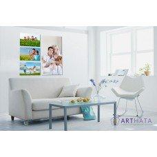 Картина на холсте по фото Модульные картины Печать портретов на холсте Фотостена №19