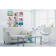 Картина на холсте по фото Модульные картины Печать портретов на холсте Фотостена №20