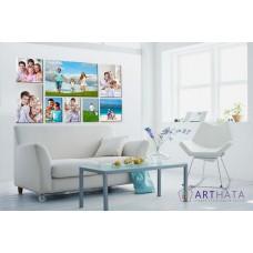 Картина на холсте по фото Модульные картины Печать портретов на холсте Фотостена №27