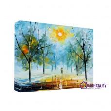 Картина на холсте по фото Модульные картины Печать портретов на холсте Весеннее солнце