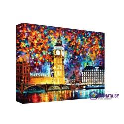 Однажды в Лондоне - Модульная картины, Репродукции, Декоративные панно, Декор стен