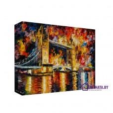 Картина на холсте по фото Модульные картины Печать портретов на холсте Достопримечательности Лондона