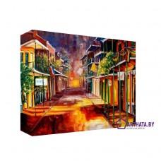 Картина на холсте по фото Модульные картины Печать портретов на холсте Южный город