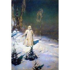 Картина на холсте по фото Модульные картины Печать портретов на холсте Снегурочка