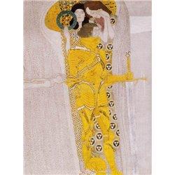 Бетховенский фриз. Деталь - Модульная картины, Репродукции, Декоративные панно, Декор стен