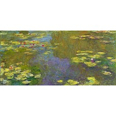Картина на холсте по фото Модульные картины Печать портретов на холсте Водяные лилии