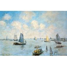 Картина на холсте по фото Модульные картины Печать портретов на холсте Море в Амстердаме