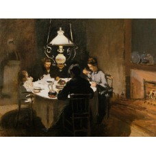 Картина на холсте по фото Модульные картины Печать портретов на холсте Ужин